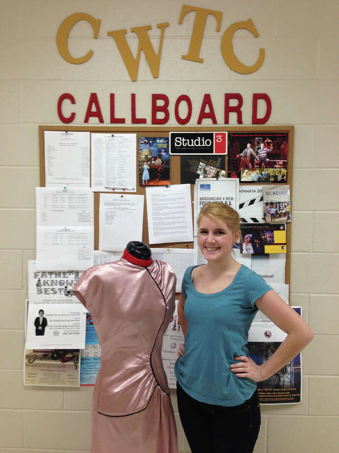 Cy Woods High School student Ashton Croft won second place for costume design in a summer competition. Photo: Provided By Cy Woods High School