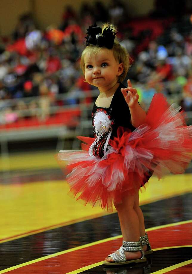 Kountze High School hosted a community pep rally Thursday night to get everyone excited for the upcoming homecoming game. The Kountze Lions play Warren at 7:30 p.m. Friday. Photo: Cassie Smith