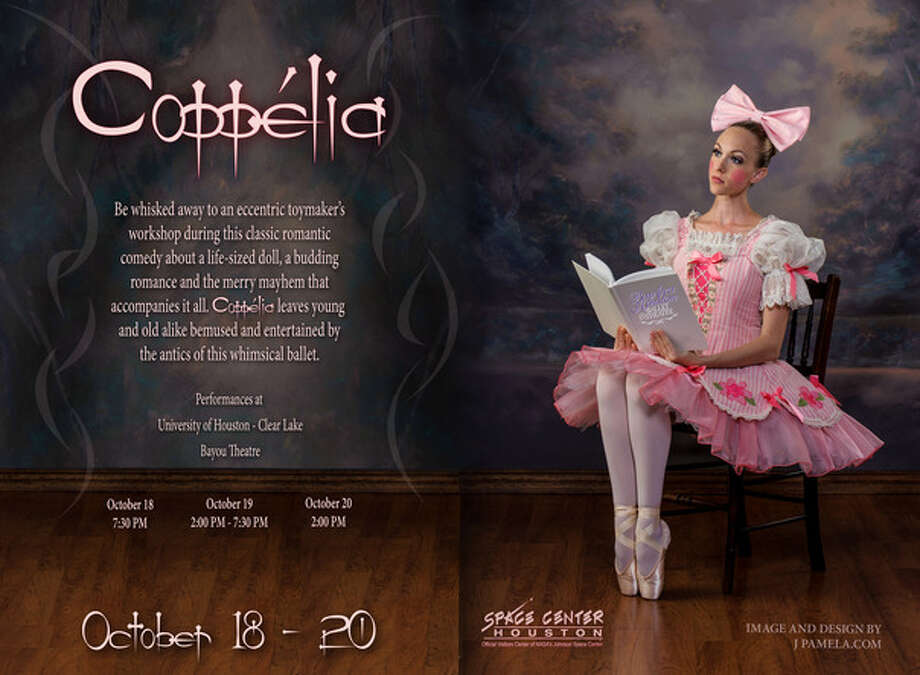 "The Bay Area Houston Ballet and Theatre presents ""Coppelia"" Oct. 18-20. Photo: Provided By Bay Area Houston Ballet And Theatre"