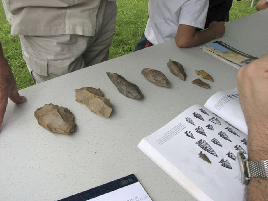 Among the items brought to last year's Artifact Identification Day were stone tools and projectile points dating back thousands of years. Photo: Courtesy Photos
