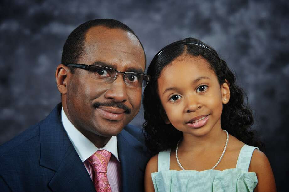 Sickle cell anemia victim Marva Jean Cabotaje-English poses with her father Bobby. Photo: Photo Provided