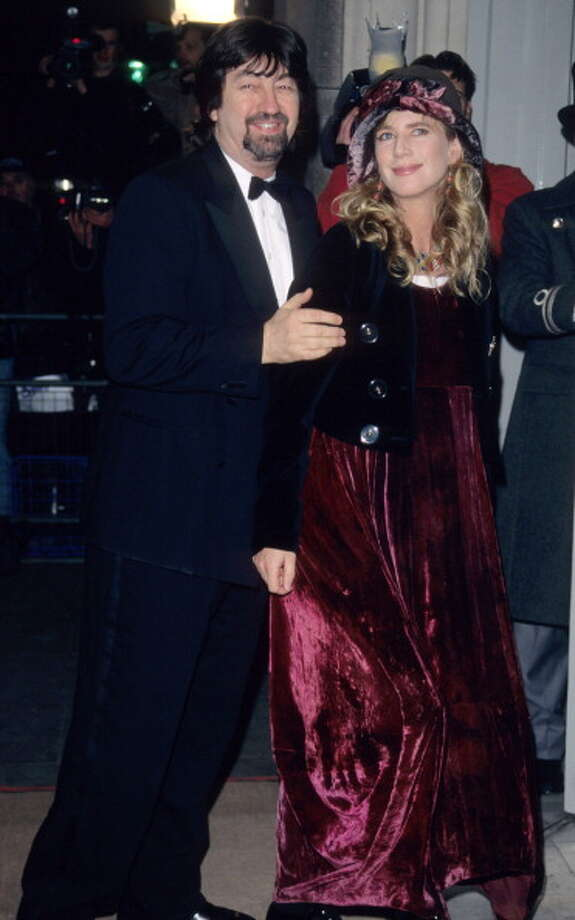 Director Trevor Nunn and actress Imogen Stubbs in 1996, at around the time they collaborated on TWELFTH NIGHT, co-starring Helena Bonham Carter. EXCELLENT. Photo: Tom Wargacki, WireImage / WireImage