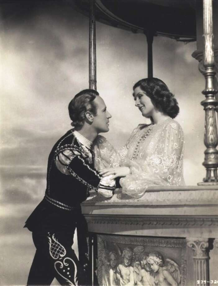 ROMEO AND JULIET: But then bad versions of this story are an ongoing movie tradition. Take this  interesting disaster from 1936. Irving Thalberg wanted to make a ROMEO AND JULIET for all time, not realizing that every generation needs to discover the classic on its own. He also didn't realize that, on screen, you can't have a 34 year old Juliet and a 43-year-old Romeo -- not to mention a 54-year-old Mercutio (John Barrymore).  This is the movie that even Norma Shearer fans can't make it through, though she's good in the potion scene. POOR.