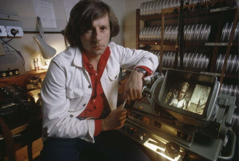 Roman Polanski in the editing room, September 1971, preparing his hard-hitting MACBETH.  VERY GOOD. Photo: David Montgomery, Getty Images / 2010 Getty Images