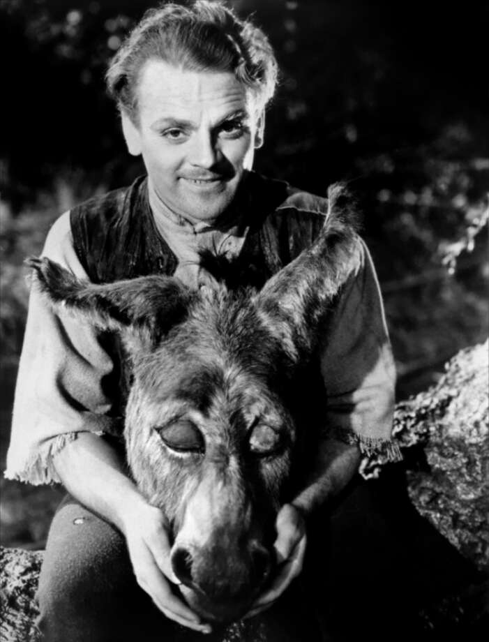 A MIDSUMMER NIGHT'S DREAM -- with James Cagney as a vigorous bottom and Mickey Rooney as Puck.  More noted now for its set decoration than its performances. FAIR.