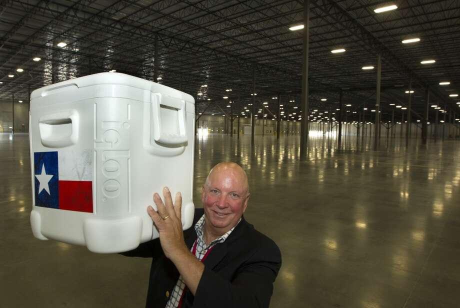Igloo Products CEO Gary Kiedaisch poses for a portrait at the new  420,000 square foot distribution facility on Thursday, Oct. 10, 2013, in Katy. ( J. Patric Schneider / For the Chronicle ) Photo: J. Patric Schneider, For The Chronicle