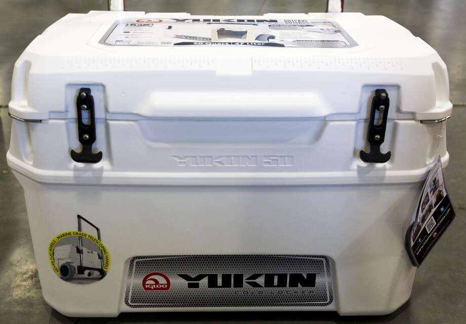 A Yukon cooler is seen at the new Igloo distribution facility on Thursday, Oct. 10, 2013, in Katy. ( J. Patric Schneider / For the Chronicle ) Photo: J. Patric Schneider, For The Chronicle