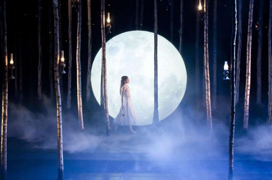 Hannah Vassallo as Aurora in Matthew Bourne's Sleeping Beauty. Photo: Mikah Smillie