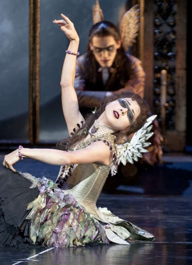 Mari Kamata as Ardor in Matthew Bourne's Sleeping Beauty. Photo: Simon Annand