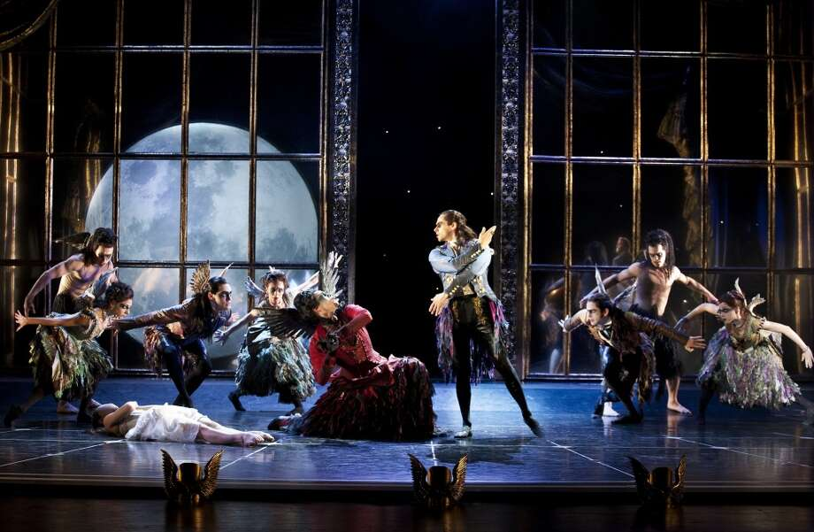 The cast of Matthew Bourne's Sleeping Beauty. Photo: Simon Annand