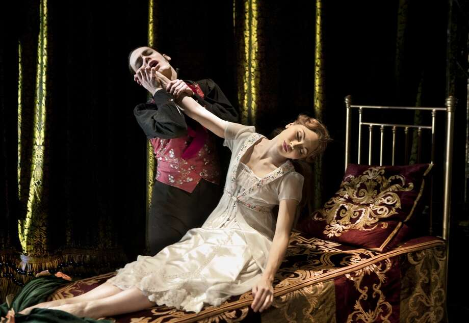Adam Maskell as Caradoc and Hannah Cassallo as Aurora in Matthew Bourne's Sleeping Beauty. Photo: Simon Annand