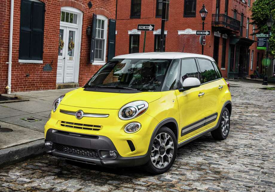 This undated image made available by Chrysler shows the 2014 Fiat 500L. Photo: Chrysler