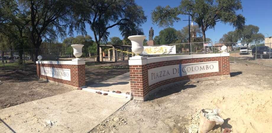 The newly installed signs facing Martin Street. Photo: Benjamin Olivo, MySA.com