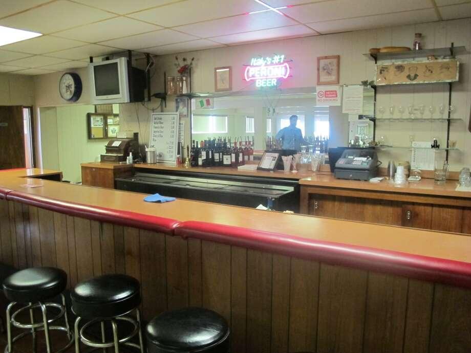 The bar inside the hall. Photo: Benjamin Olivo, MySA.com