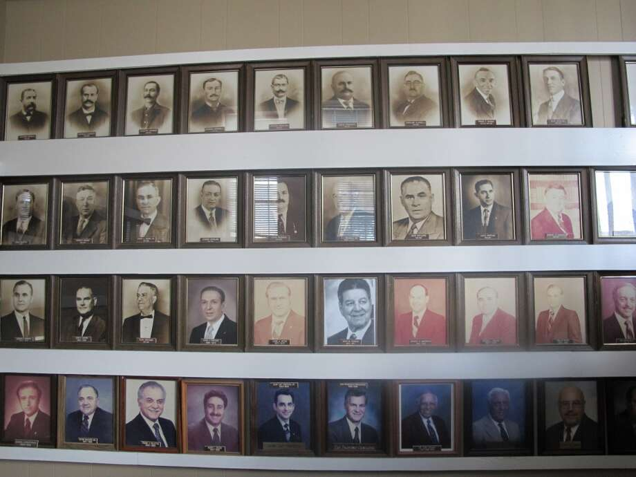 The society's past presidents. Photo: Benjamin Olivo, MySA.com