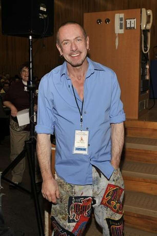 "Clive Barker, author: The master of horror/fantasy/sci fi was surprised by the public reaction to a 1995 Advocate interview he did in which he admitted he was gay. He says, ""Well that's because very often gayness — and actually sexuality in general — is seen as a problem. An issue. Instead it's simply a fact."""