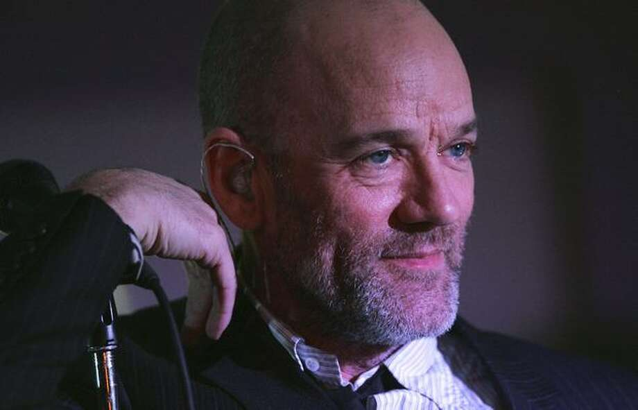 "Michael Stipe, lead singer of R.E.M.: Stipe came out in a May 2001 Time Magazine article, saying ""I was being made to be a coward about it, rather than someone who felt like it really was a very private thing."""