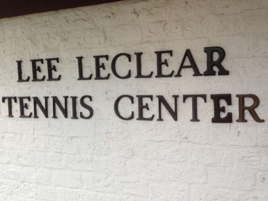 The center was renamed for Lee LeClear in 1995. LeClear was the manager and tennis pro for 20 years. Photo: Katherine Feser, Houston Chronicle