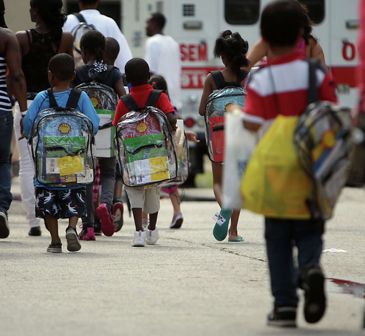 Kids regularly carry backpacks that are much heavier than they need to be.
