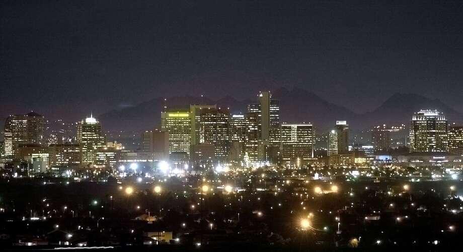 4. Phoenix, AZ Photo: MATT YORK, AP