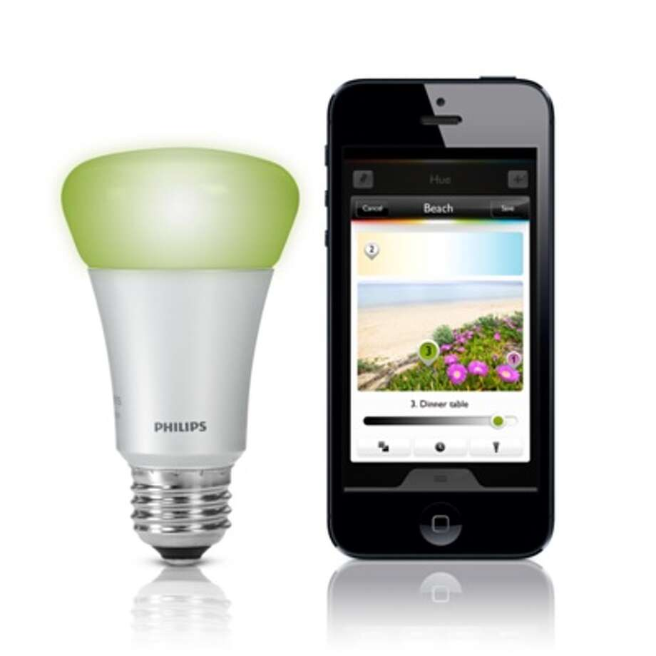Philips Hue Connected Bulb - $59.95 Photo: Apple