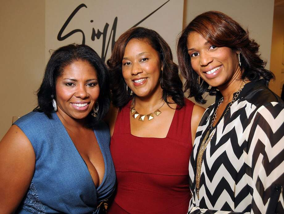 Julie Collins, Angelina Hollins and Mecole Leverette Photo: Dave Rossman, For The Houston Chronicle
