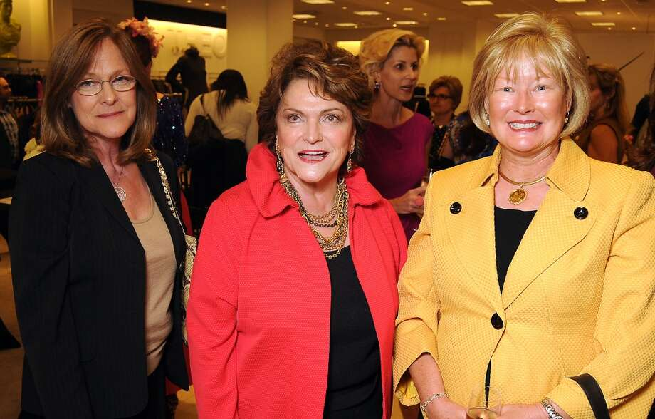 Marie Brochstin, Beth Wolff and Diana Brown Photo: Dave Rossman, For The Houston Chronicle