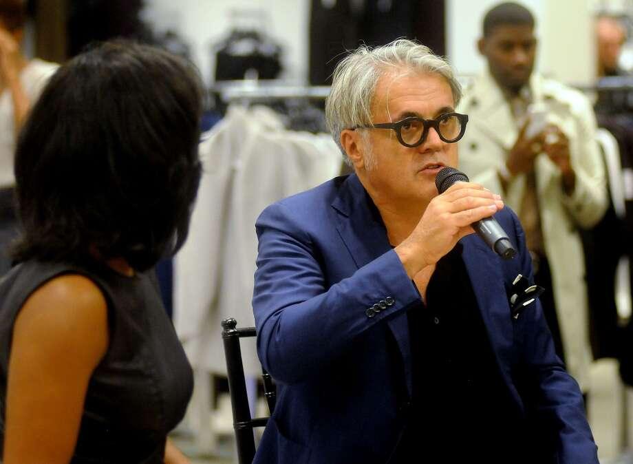 Shoe designer Giuseppe Zanotti Photo: Dave Rossman, For The Houston Chronicle