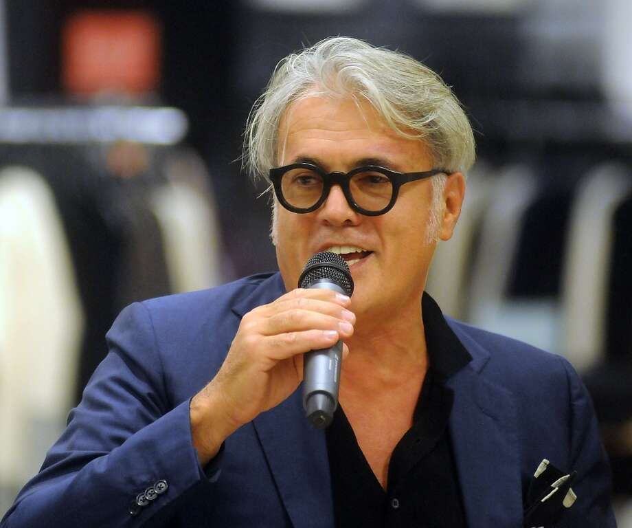 Shoe designer Giuseppe Zanotti Photo: Dave Rossman, For The Houston Chronicle