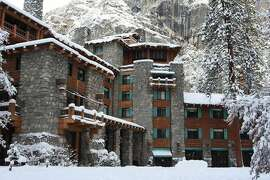 The company that manages Yosemite restaurants and lodges like the Ahwahnee says it must be paid for the property names it claims to own if another company takes over the contract.