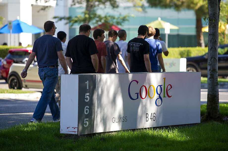 Some workers at Google are among those who claim that tech firms colluded to keep their salaries low. A judge approved class-action status for their suit. Photo: David Paul Morris, Bloomberg