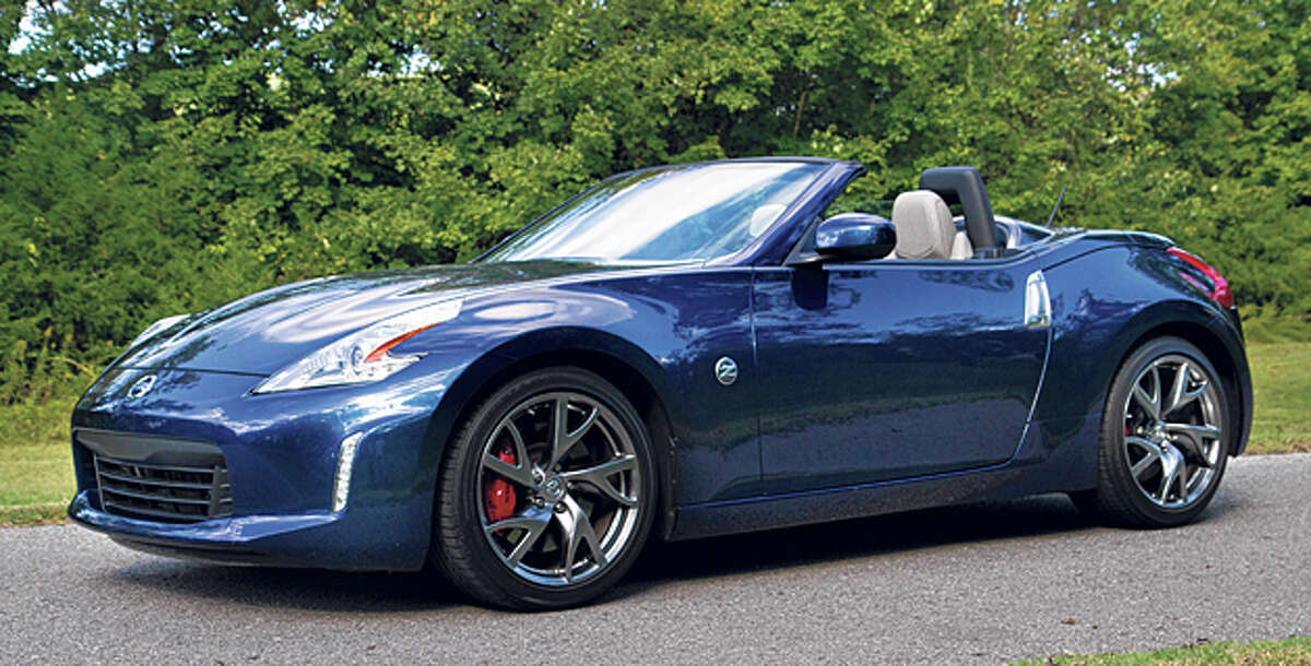 Spirited 2014 Nissan 370z Roadster Touring