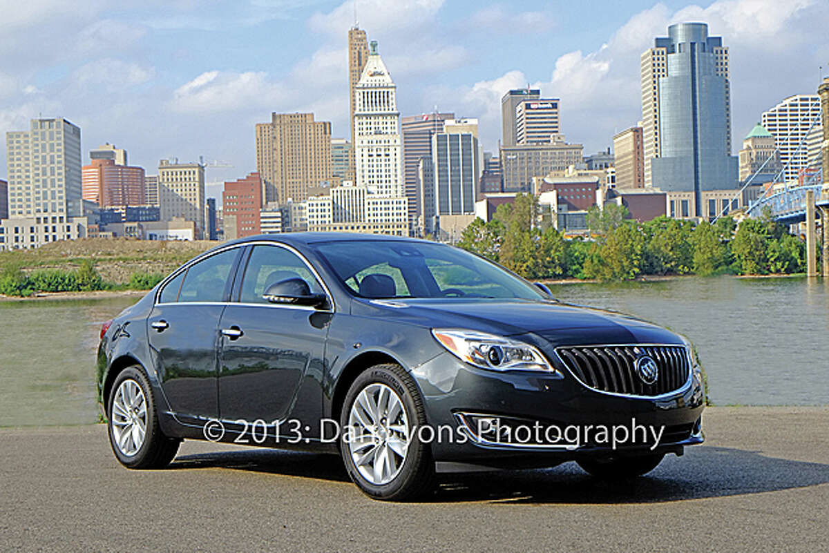 2014 Buick Regal/Regal GS (photo by Dan Lyons)