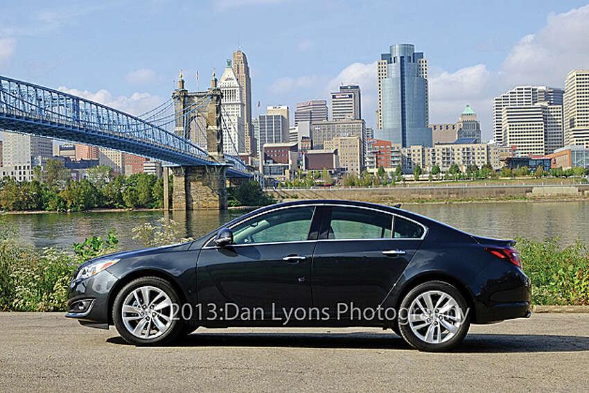 2014 Buick Regal/Regal GS (photo by Dan Lyons)