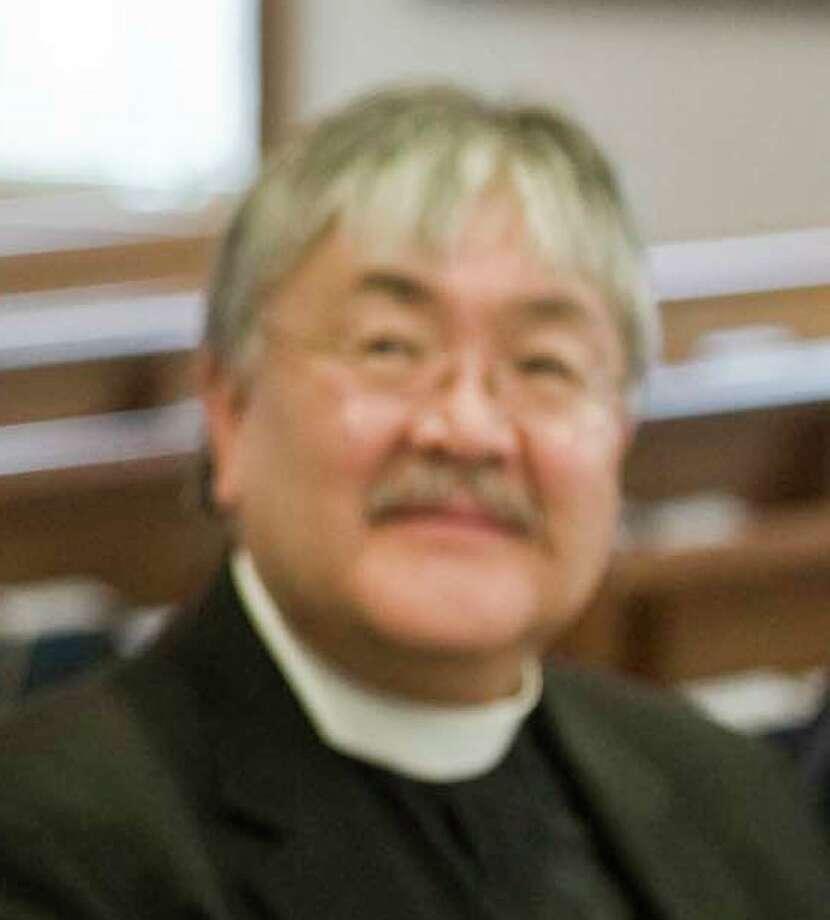 Rev. Mel Kawakami of Newtown United Methodist Church, April 10, 2011 Photo: Scott Mullin, ST / The News-Times Freelance