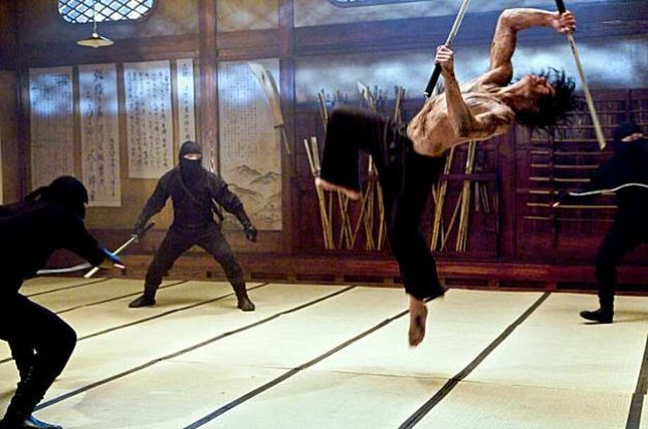 """Ninja Assassin"":  Nearly unwatchable martial arts action film."