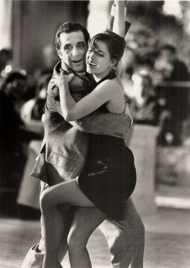 Al Pacino and Gabrielle Anwar in SCENT OF A WOMAN, 1992. Photo: The Chronicle