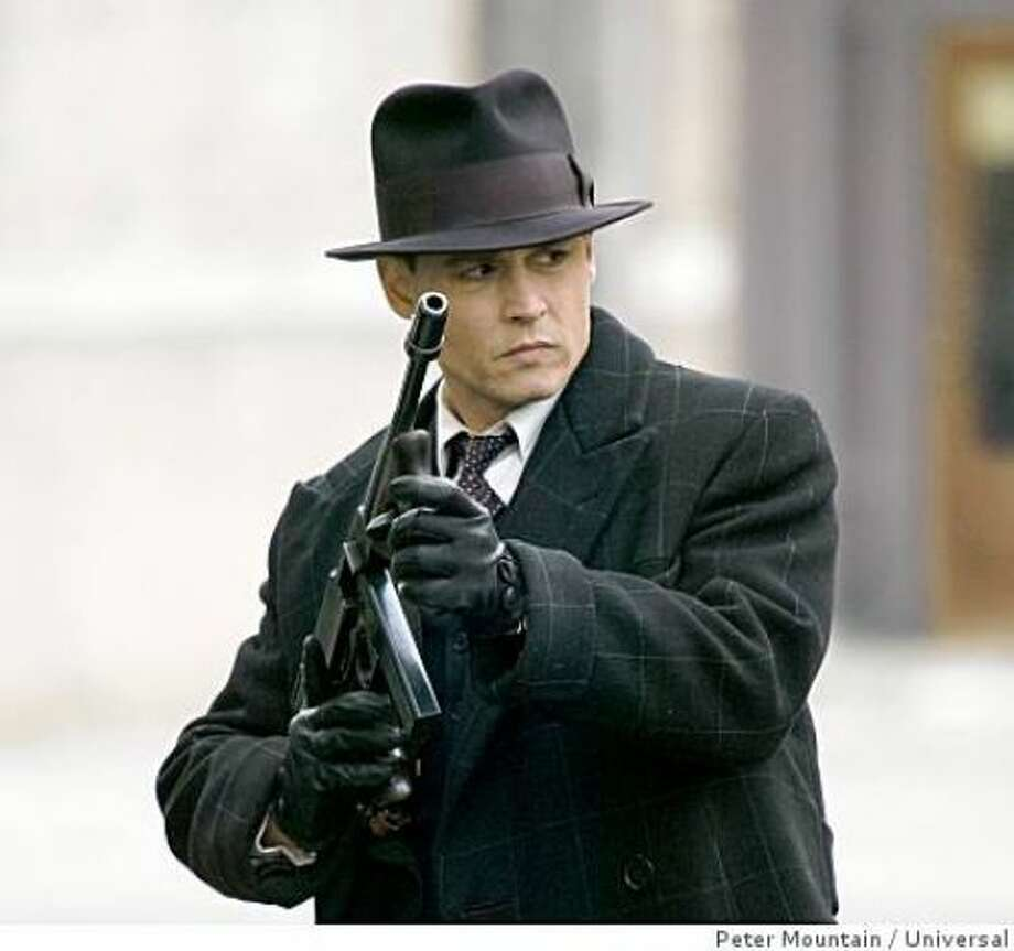 """Public Enemies"" (a robson):  But, but, that was a good movie, wasn't it?"