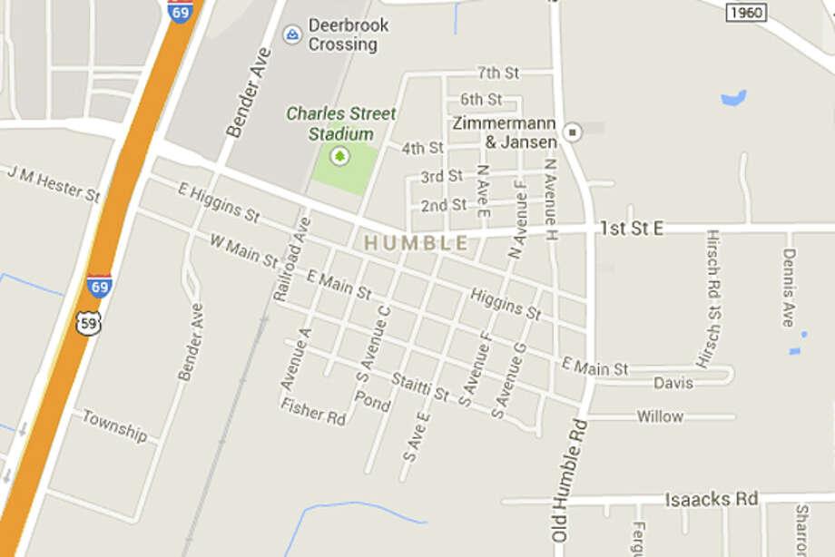 Anywhere in Humble – Matthew Bryan on Facebook Photo: Google Maps