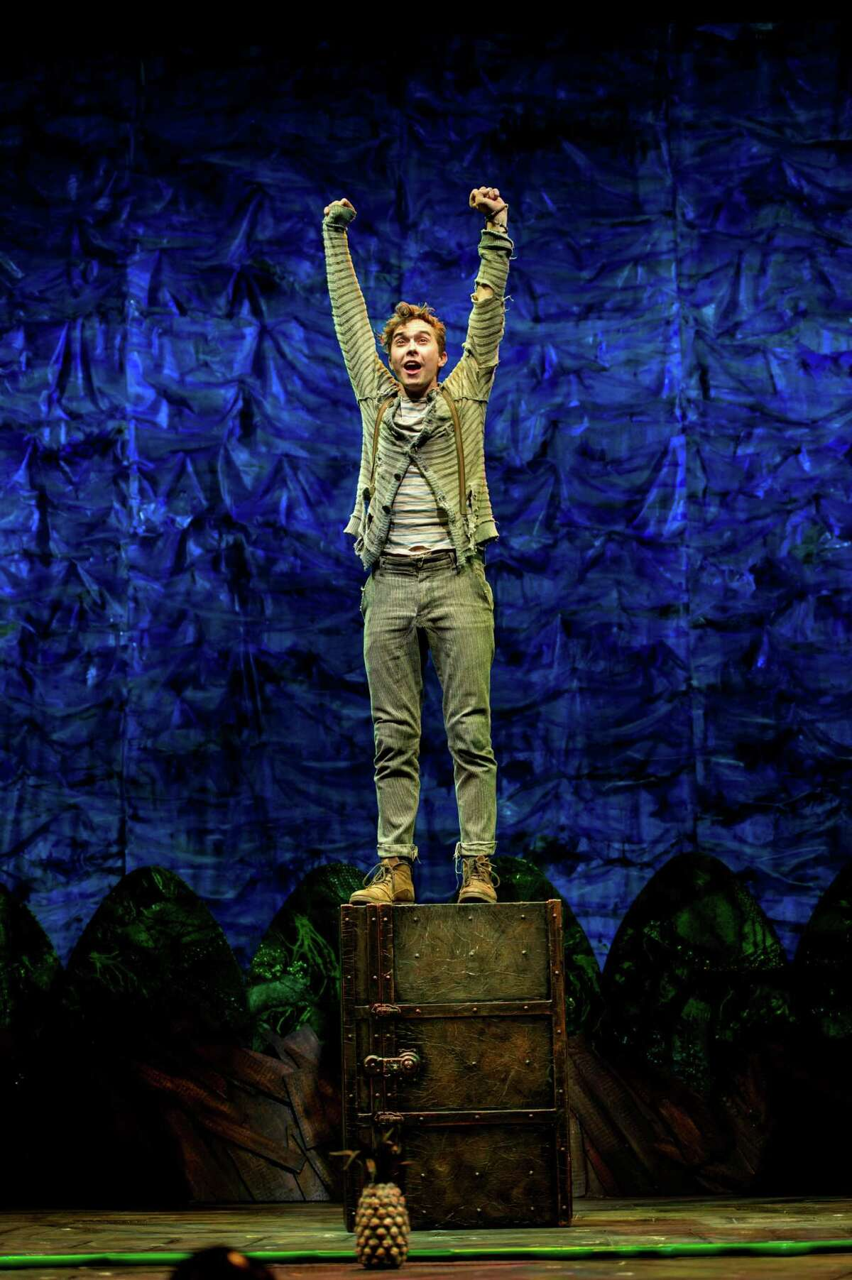 """Joey deBettencourt plays Boy, who later becomes Peter, in """"Peter and the Starcatcher."""""""