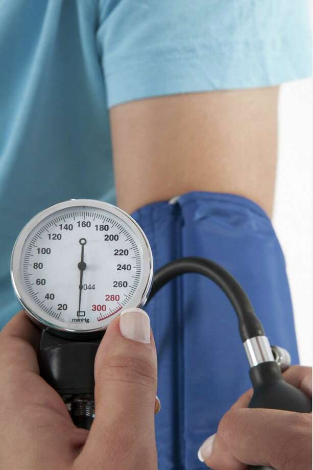 Checking blood pressure at home can help keep you motivated. Photo: Getty Images