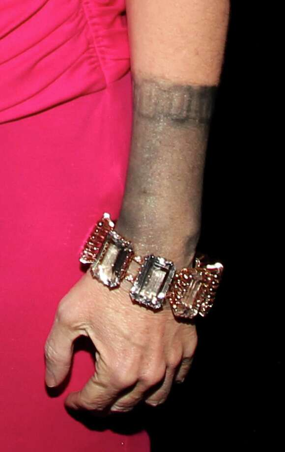 It's always bad news when your jewelry has a mind of its own. This is Kathy Griffin's bracelet at the 2012 People's Choice Awards in January. Photo: Christopher Polk, Getty Images For PCA / 2012 Getty Images