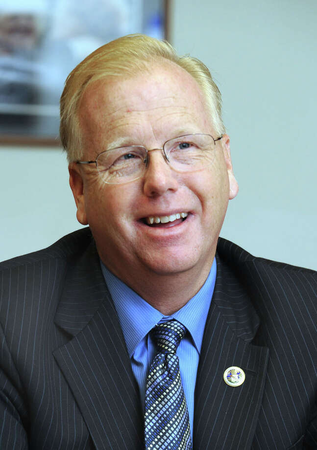 Danbury Mayor Mark Boughton. Photo: Carol Kaliff, ST / The News-Times