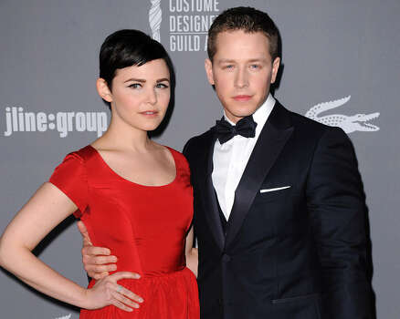 'Once Upon A Time' co-stars Ginnifer Goodwin and her new husband Josh Dallas welcomed their first child, a boy named Oliver Finlay, on May 29.