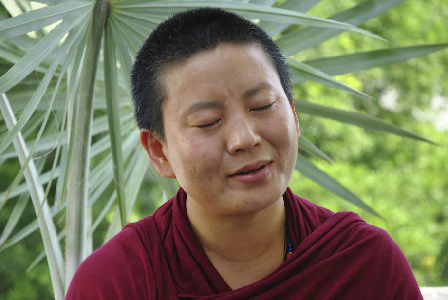 Ani Choying Drolma, 43, has recorded 10 albums of sacred chants and devotional songs over 16 years.