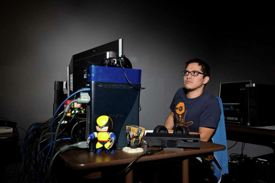Quality assurance manager Mark Miranda works at Twisted Pixel Games, a video game company, in Austin. The company has received $67,922 in grants for three projects since 2010. Photo: Callie Richmond / For The Texas Tribune