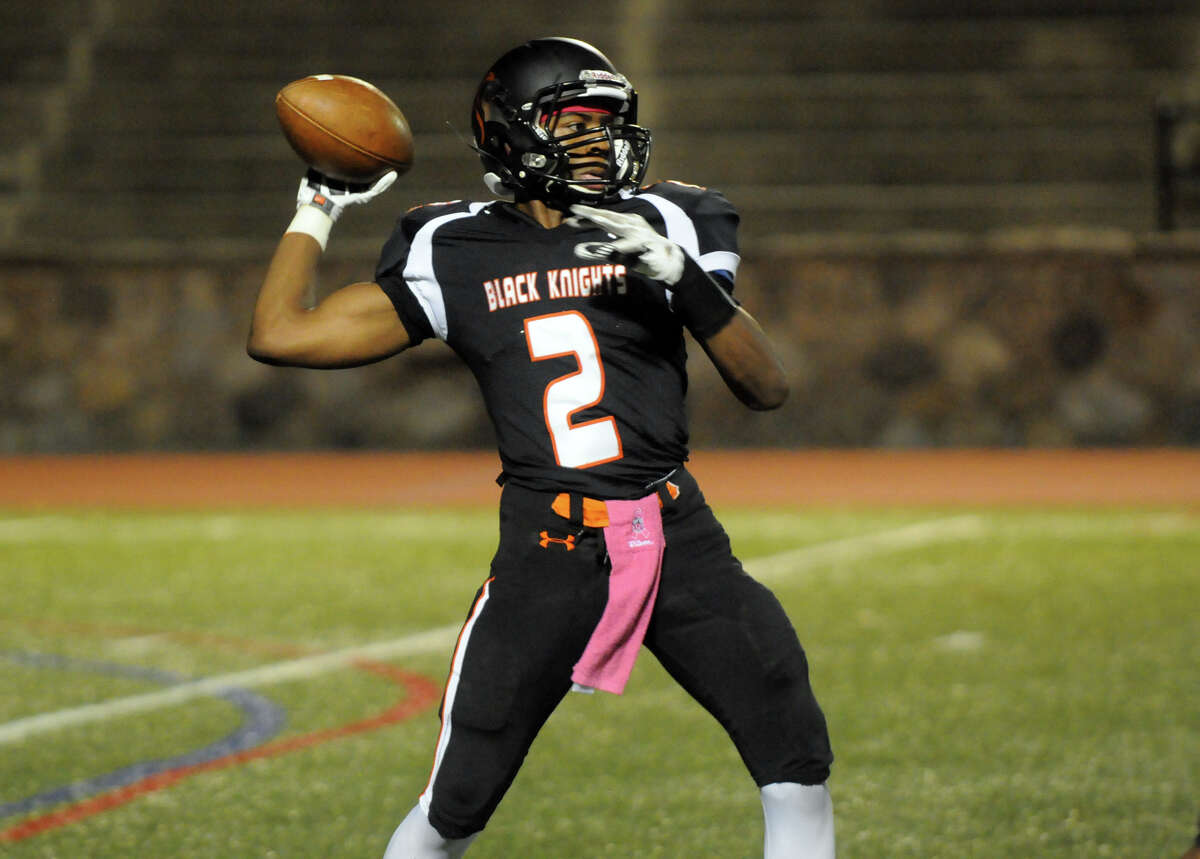 Senior set a school record with 32 touchdown passes ... Passed for 2,697 yards, ran for 663 yards and 7 rushing touchdowns ... All-FCIAC selection.