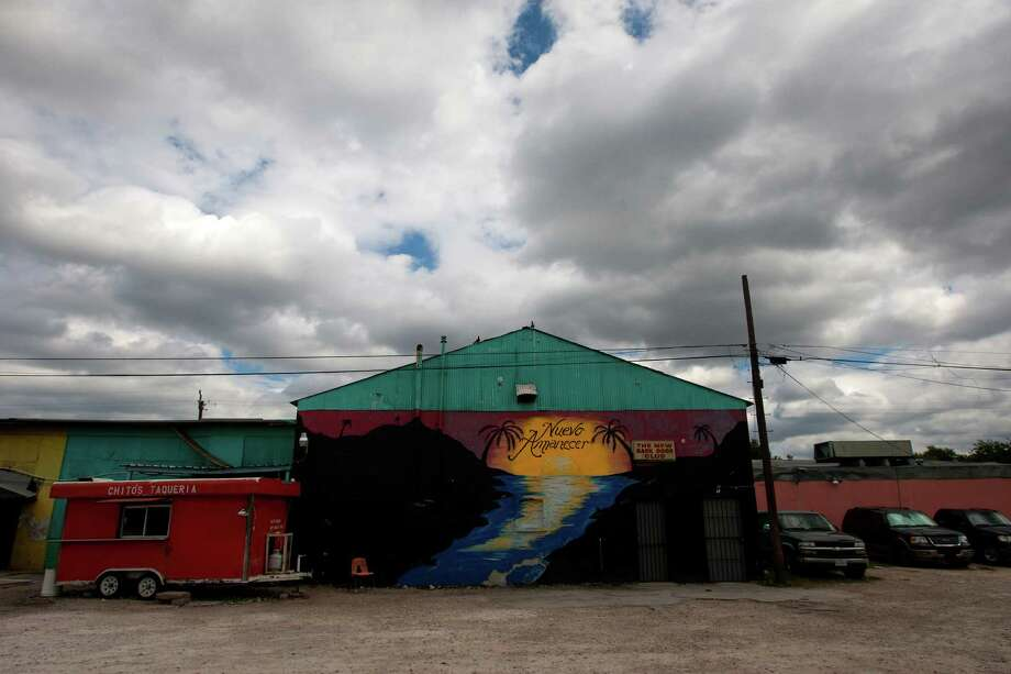 Photo of former location of Las Palmas II in the 5600 block of Telephone Rd., Friday, Oct. 11, 2013, in Houston. The club was raided by FBI agents in a human trafficking investigation. Photo: Cody Duty, Houston Chronicle / © 2013 Houston Chronicle