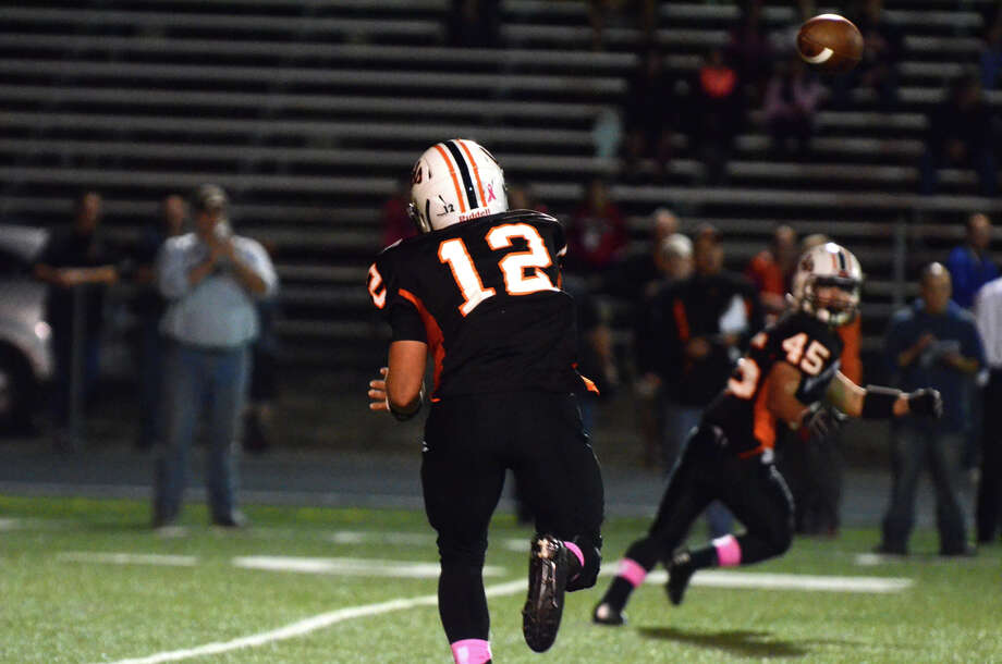 Shelton football game against Fairfield Prep at Shelton High School on Friday, Oct. 11, 2013. Photo: Amy Mortensen / Connecticut Post Freelance