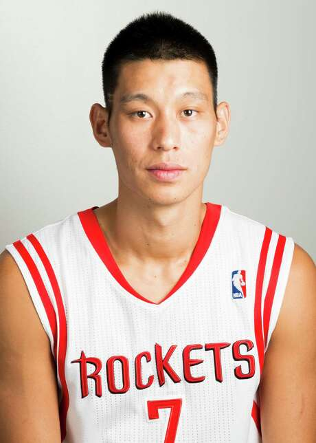 Houston Rockets point guard Jeremy Lin during media day at Toyota Center on Friday, Sept. 27, 2013, in Houston. ( Smiley N. Pool / Houston Chronicle ) Photo: Smiley N. Pool, Staff / © 2013  Houston Chronicle